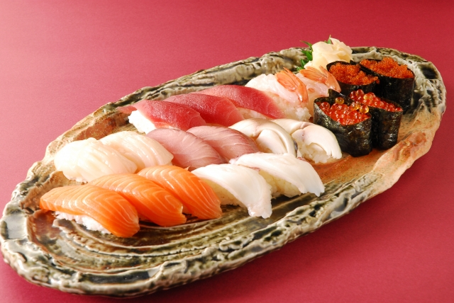 寿司コース 宵山むらさき 関内接待